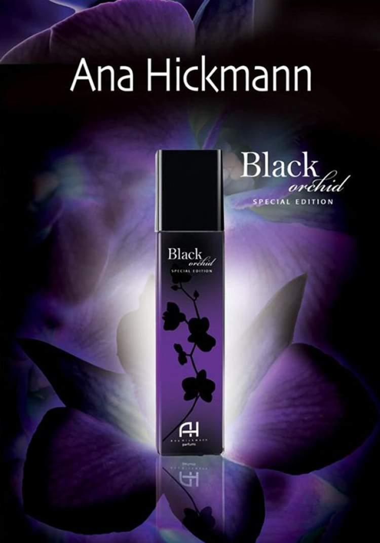 Ana Hickmann Black Orchid é um dos perfumes com frascos mais bonitos