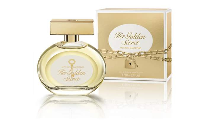 Her Golden Secret Antonio Banderas é um dos perfumes florais que fazem as mulheres se sentirem poderosas