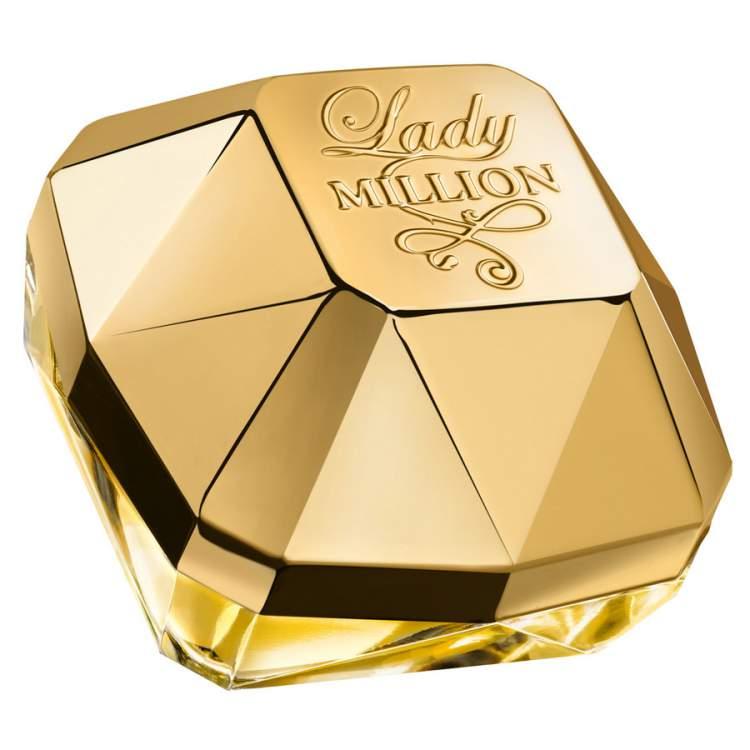 O Lady Million, de Paco Rabane é um dos perfumes lindos para colecionar