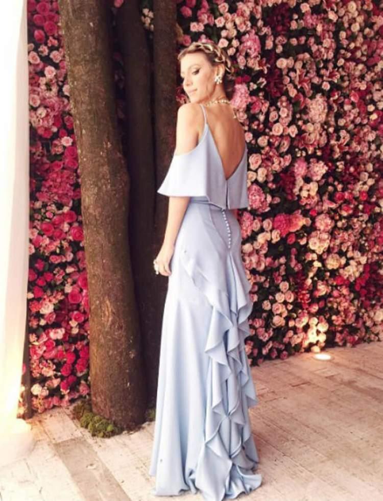 Ideia de vestido para usar em casamento diurno