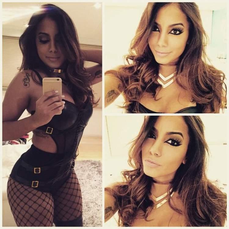 Um dos looks da Anitta que quebraram a Internet