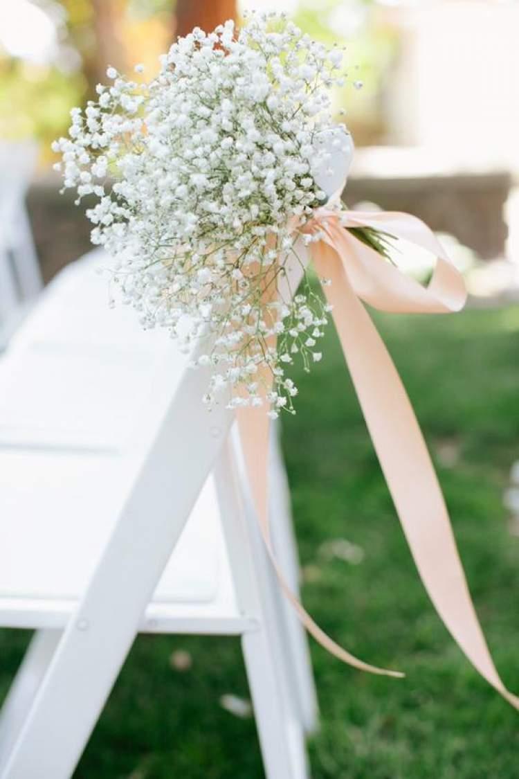 Gipsófilas são flores para buquês e arranjos