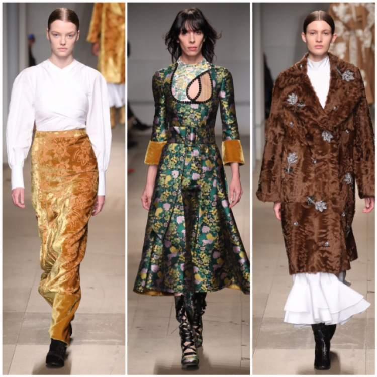 Estampas fortes são tendências da moda outono inverno 2018