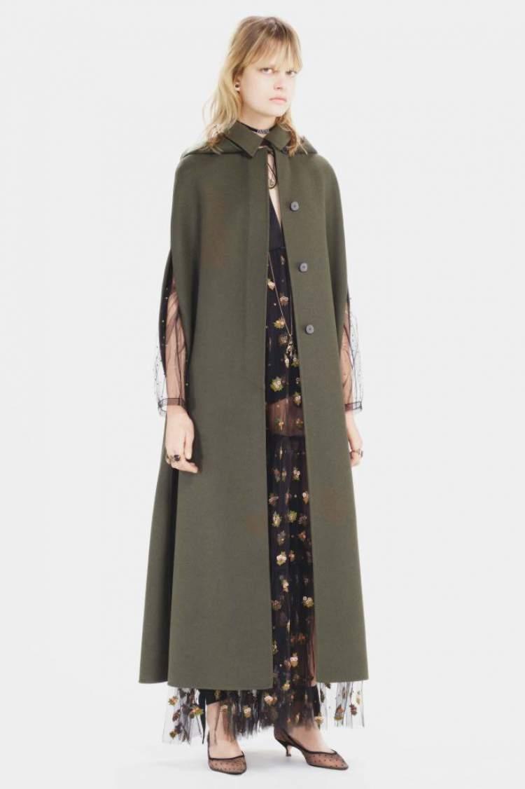 Novo estilo militar é tendência da moda outono inverno 2018