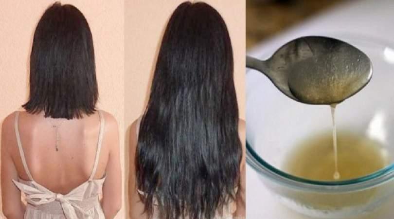 Receita caseira para fazer o cabelo crescer muito rápido