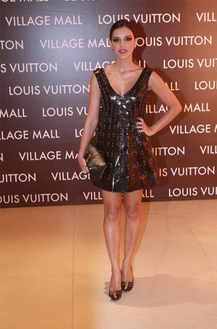 Look da Mariana Rios no desfile da Louis Vuitton