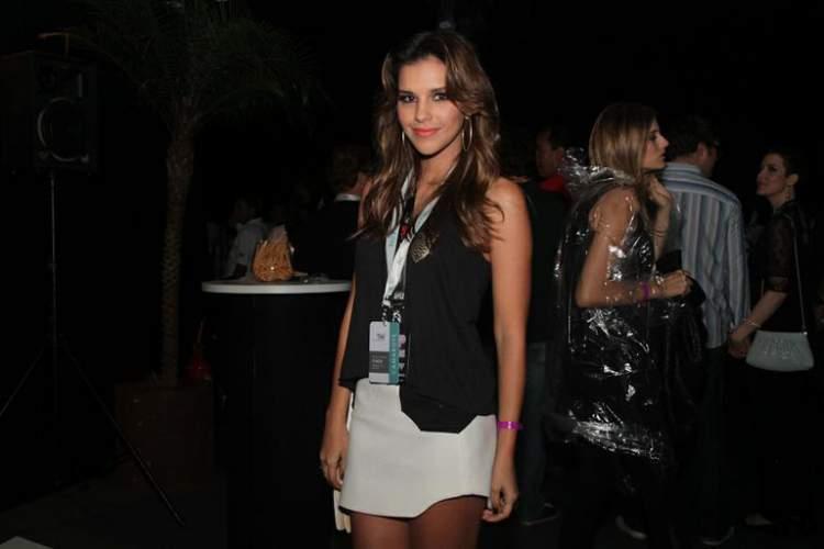 Look casual da Mariana Rios