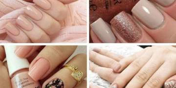 Modelos de unhas decoradas para quem ama o esmalte nude