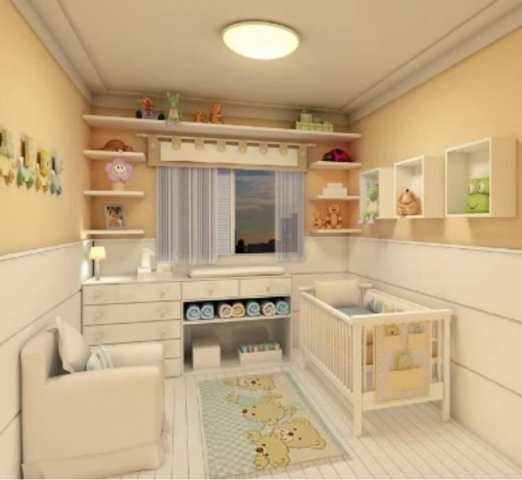 Projeto de decoração do quarto do bebê