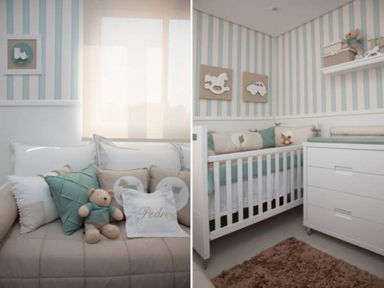 Truque de decoração do quarto do bebê: 28 ideias lindas para você se inspirar
