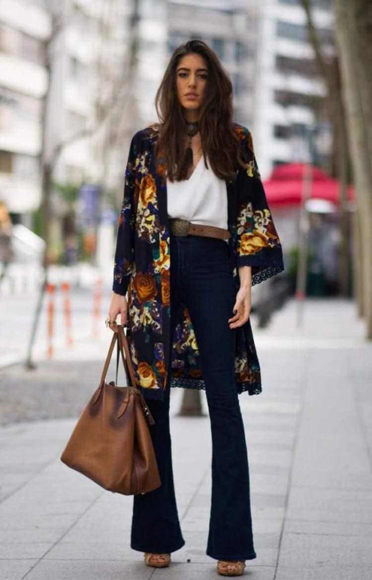 Calça flare é uma das tendências da moda para o verão 2018