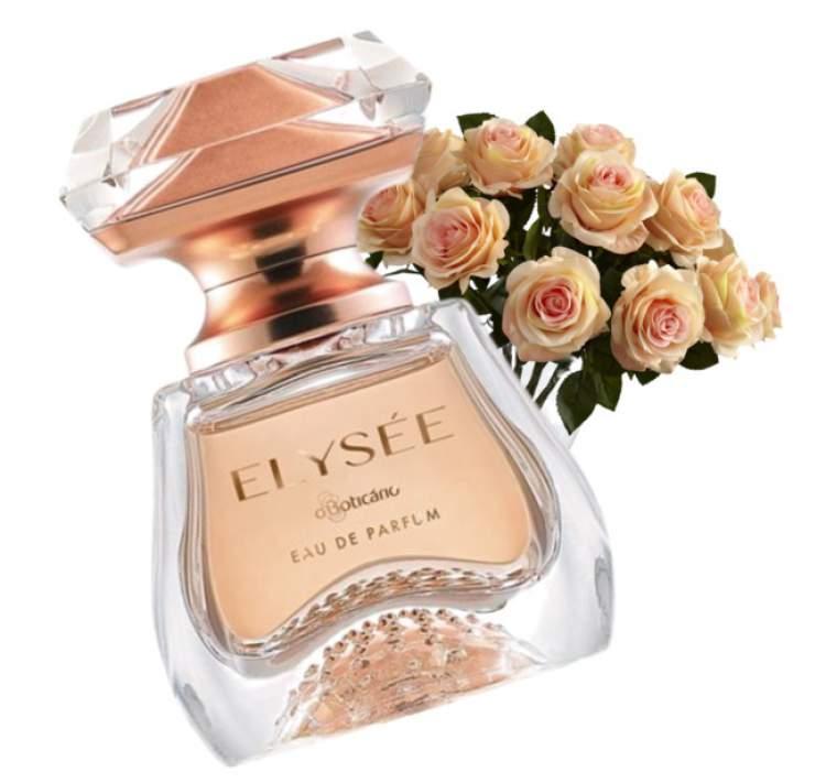 Elysée Eau de Parfum é um dos melhores perfumes para dar de presente no Natal