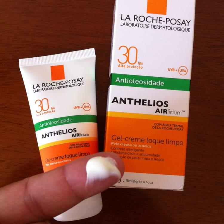 Protetor solar Anthelios Airlicium, La Roche-Posay para salvar a pele oleosa no verão