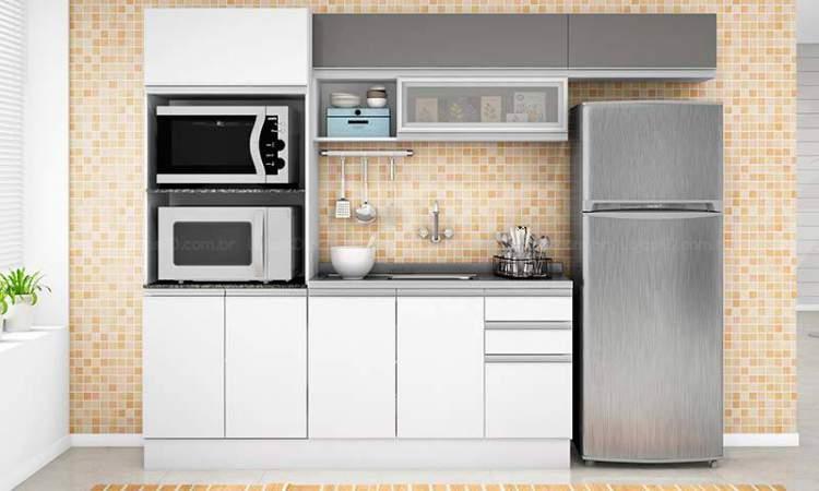 Ideia para decorar cozinhas pequenas