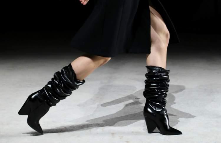 Tendência em calçado para o inverno 2018