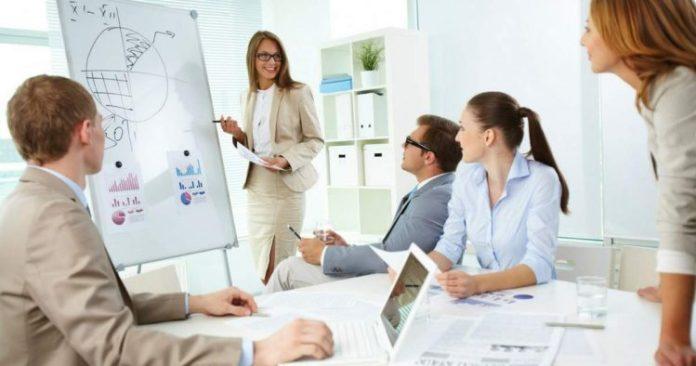 Crescimento da liderança feminina