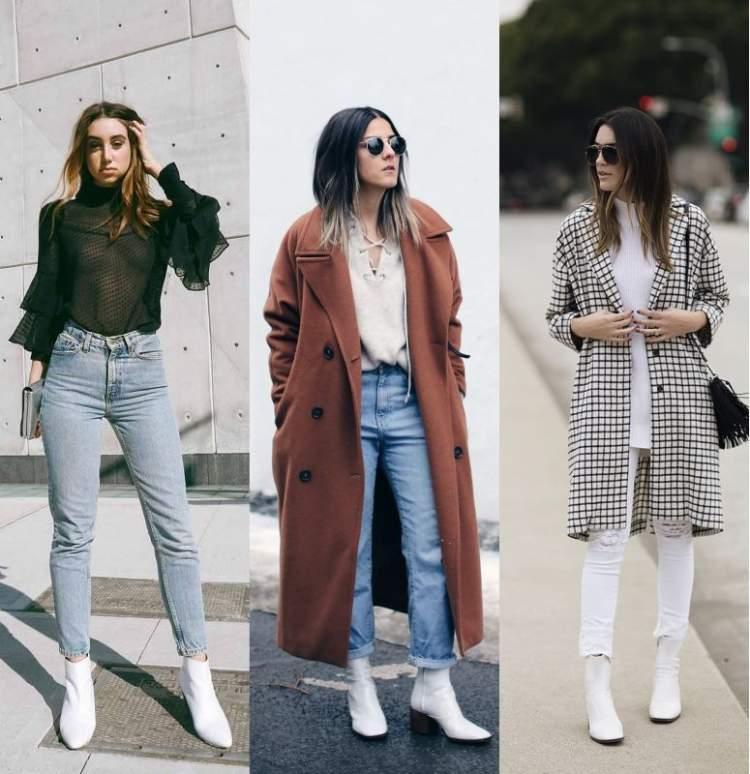 A bota branca é uma das peças da moda inverno 2018 para incluir na lista de desejos