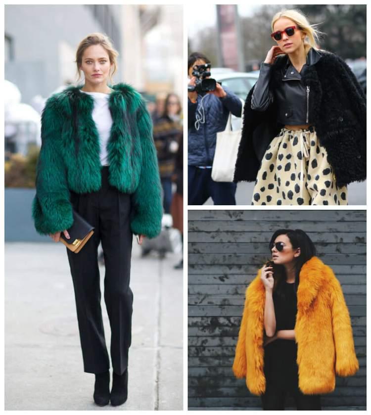 O Casaco Fake Fur é uma das peças da moda inverno 2018 para incluir na lista de desejos
