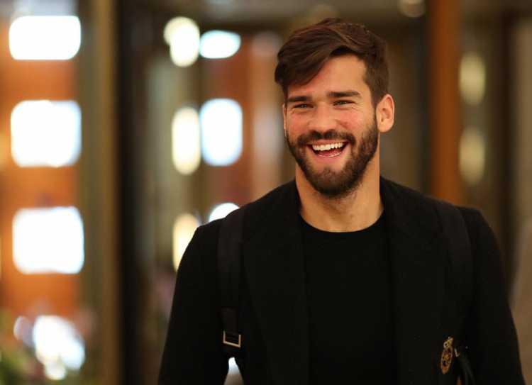 Alisson Becker é um dos jogadores bonitões da copa do mundo 2018