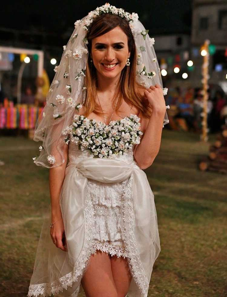 Look da noiva do arraiá