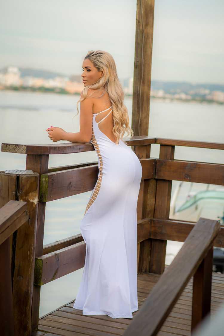 Vestido Branco da Ana Torres