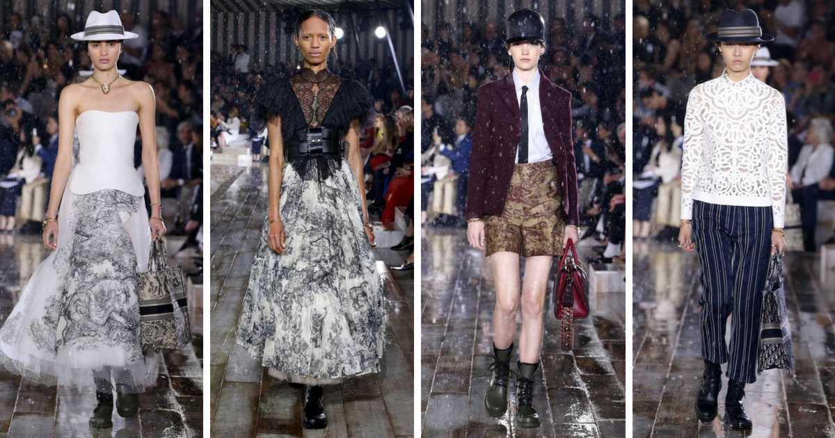 Mulheres fortes e vibrantes exibiram as próximas tendências da Dior. Veja as principais apostas da moda segundo a Dior Cruise 2019.