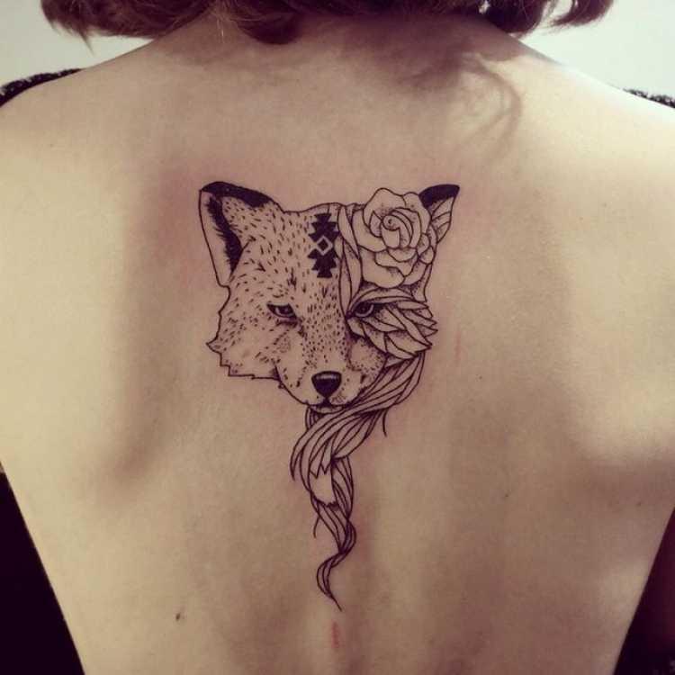 Ideia de tatuagem para mulher que ama a natureza