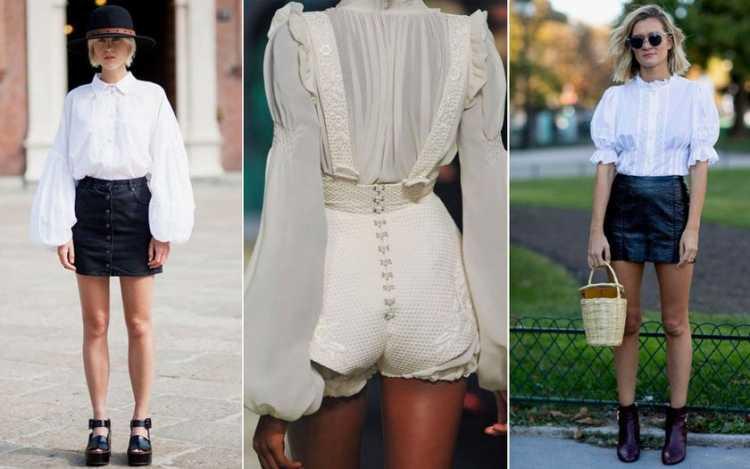 Mangas bufantes é uma das tendências da moda verão 2019