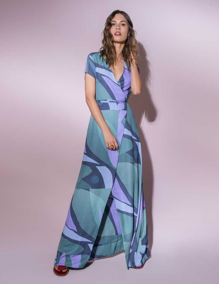 Wrap Dress é aposta da moda verão 2019