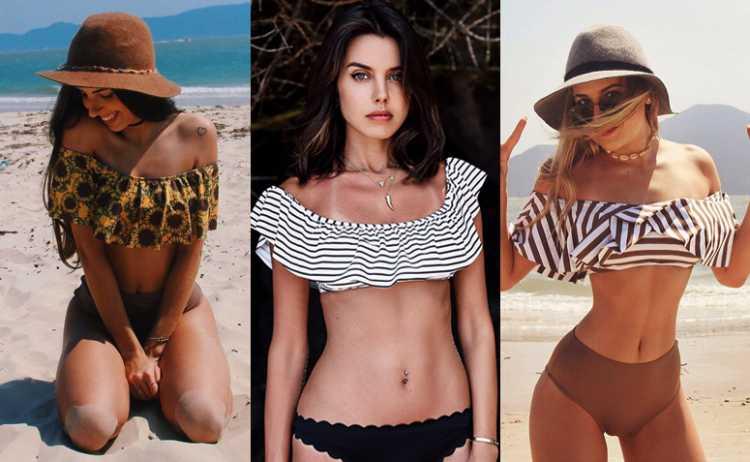Corte cigana é uma das tendências da moda praia no verão 2019