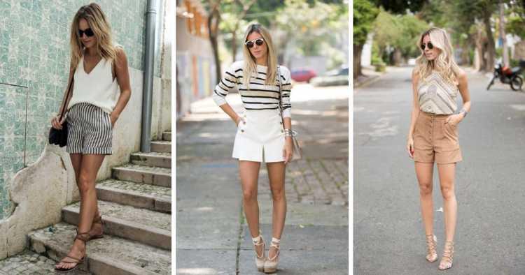 Shorts bermuda é uma das inspirações para quem gosta de usar shortinhos no verão