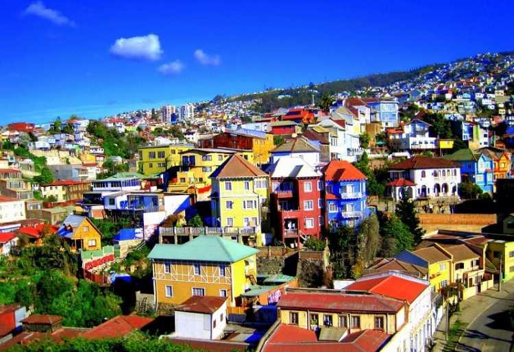 Valparaíso no Chile é um dos destinos baratos para Réveillon 2019