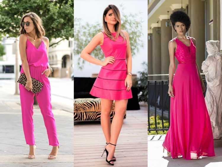 Looks com tons de rosa é uma das tendências de moda que seguirão absolutas em 2019