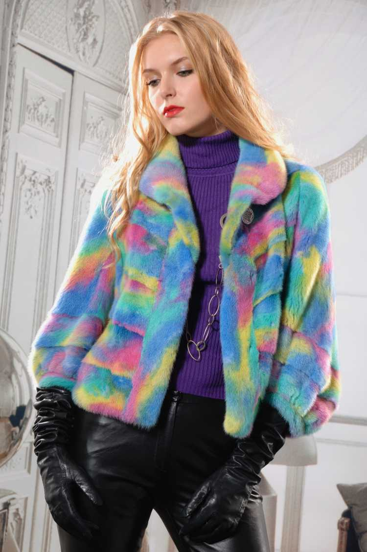 blusa de frio com estampa Tie-dye