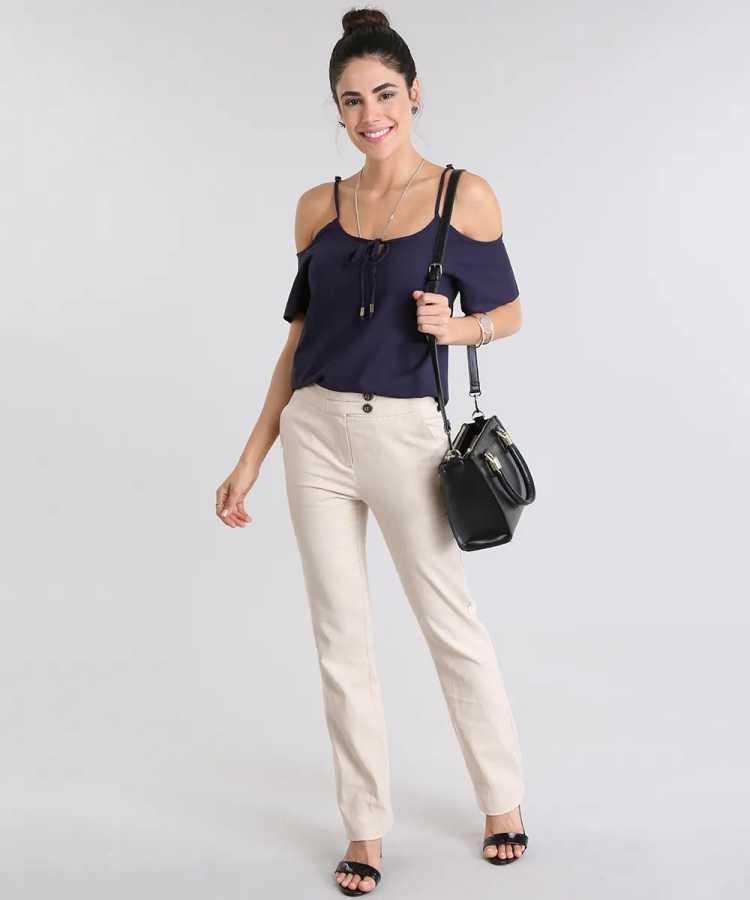 Calça de linho é uma das opções para usar calças no verão sem passar calor