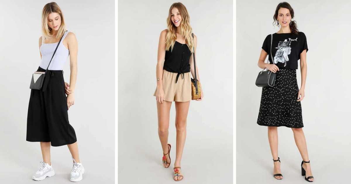 como usar roupa preta no verão sem passar calor