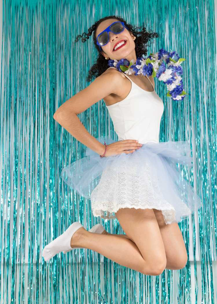 fantasia de carnaval bailarina