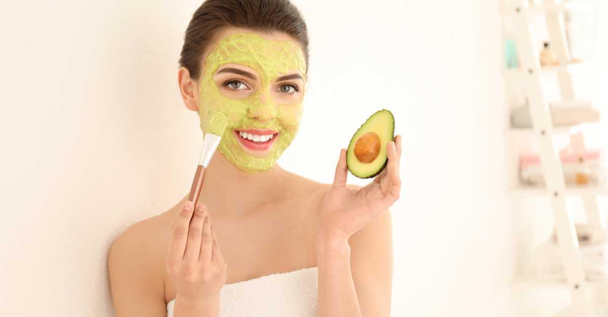 Creme de Abacate Para Tratar a Pele Seca Naturalmente