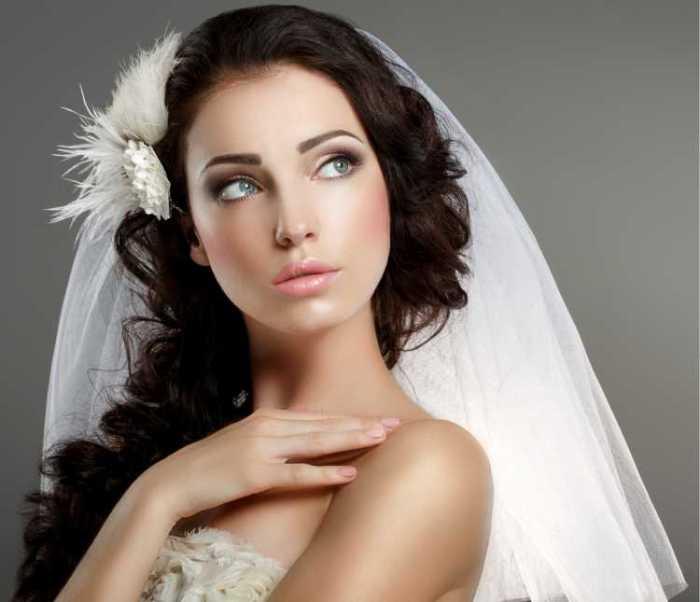 Maquiagem para noiva com véu