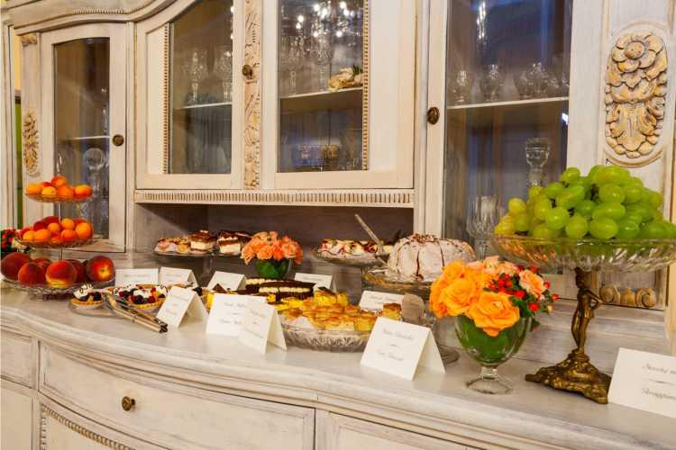 casamento em casa buffet