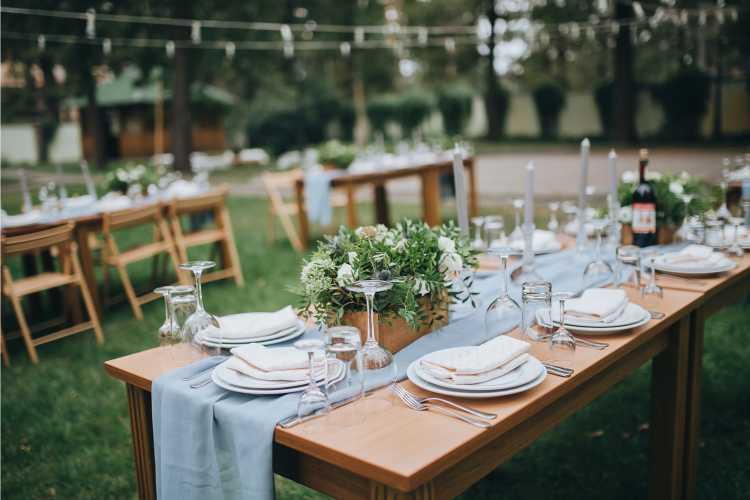 casamento simples em casa