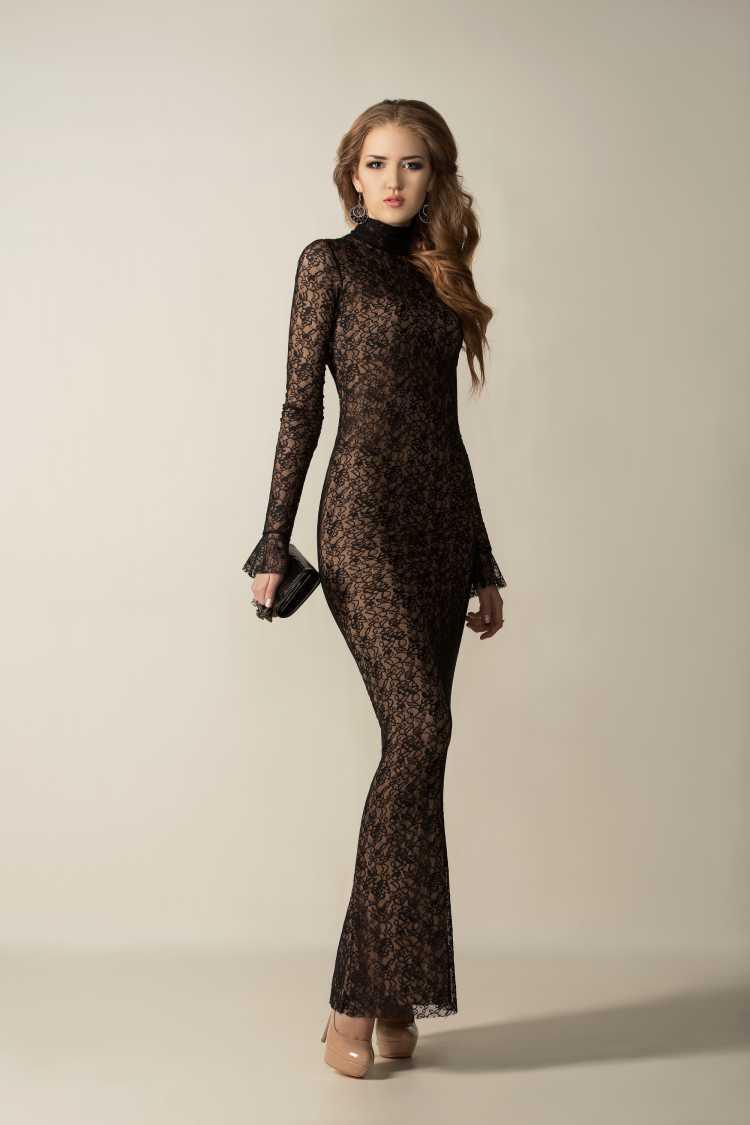 como usar vestido de Renda estilo sereia