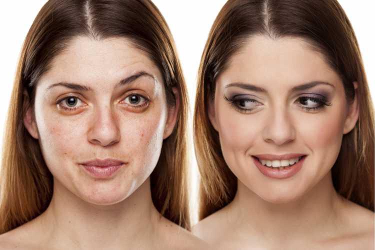 maquiagem para disfarçar olheira