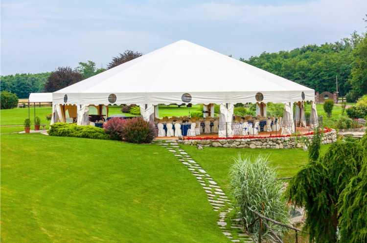 tenda para casamento em casa