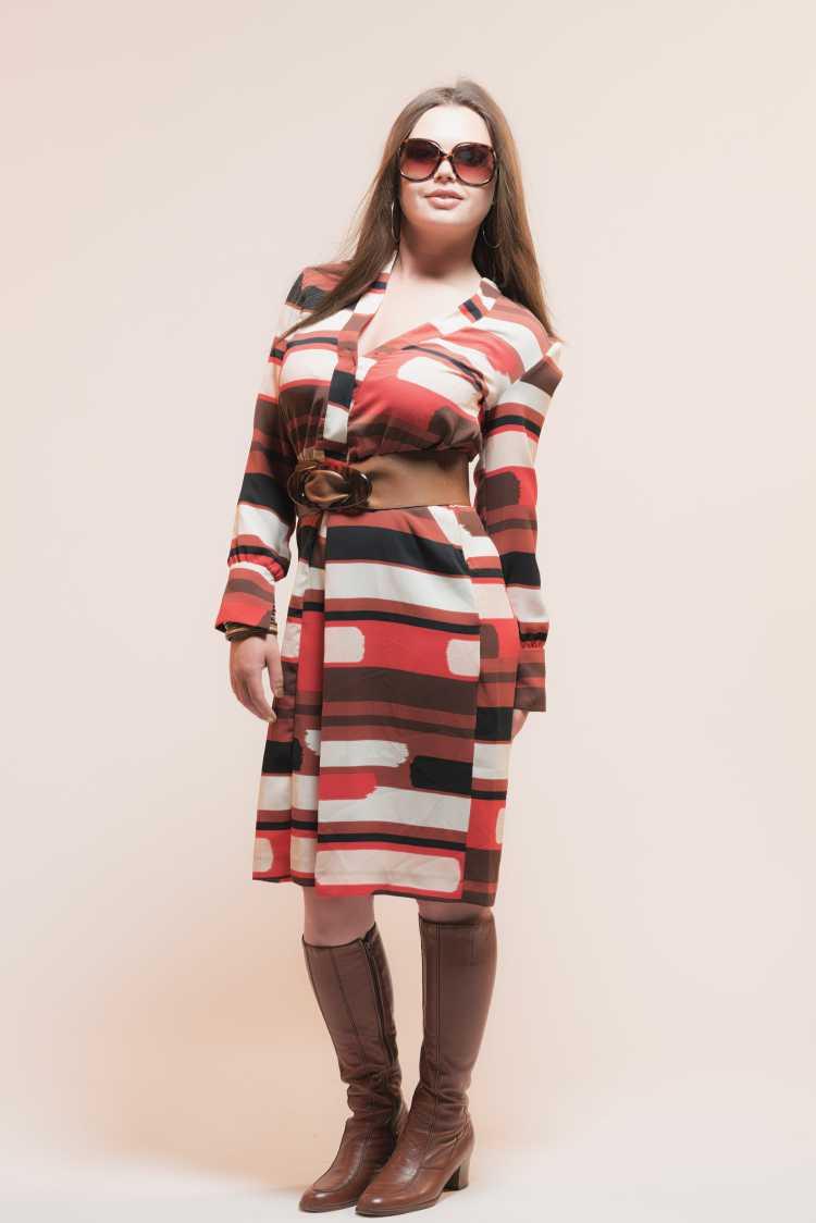vestido marcado é tendência no inverno