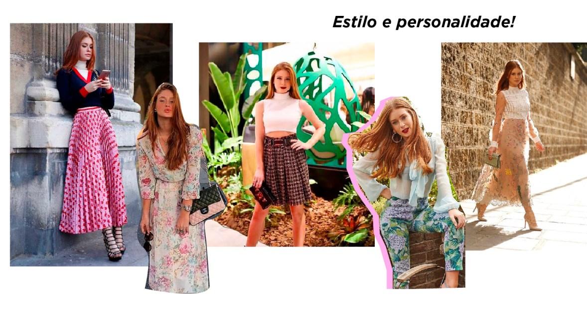 Looks das Famosas: Estilo Romântico de Marina Ruy Barbosa