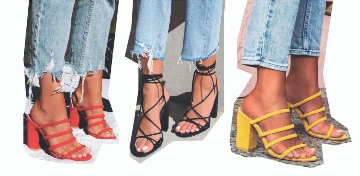 Looks com sandálias de tira
