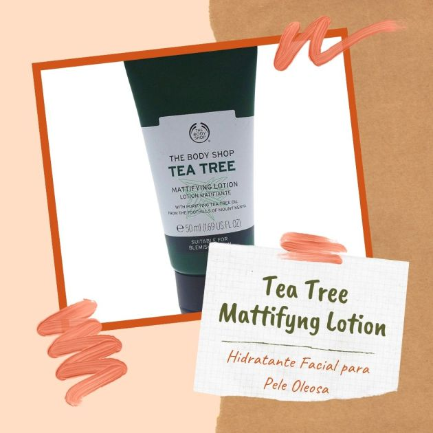 Hidratante Facial Tea Tree Mattifyng Lotion de The Body Shop