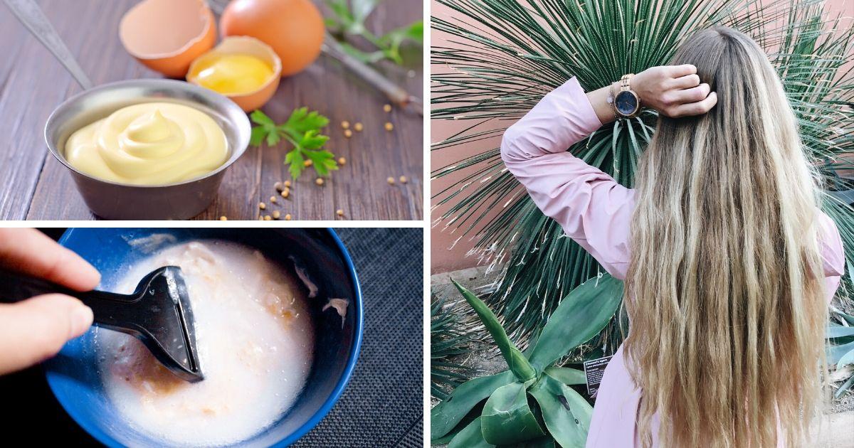 Como fazer a Hidratação com ovo e maionese - Foto: Canva