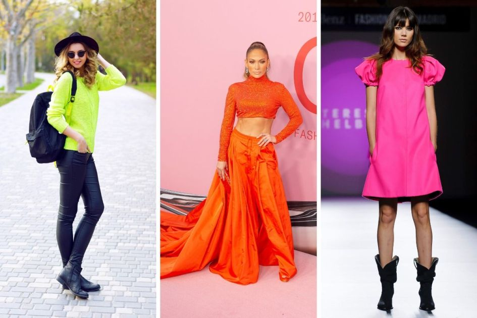 Neon é a cor da moda outono inverno 2020 - Fotos: shutterstock